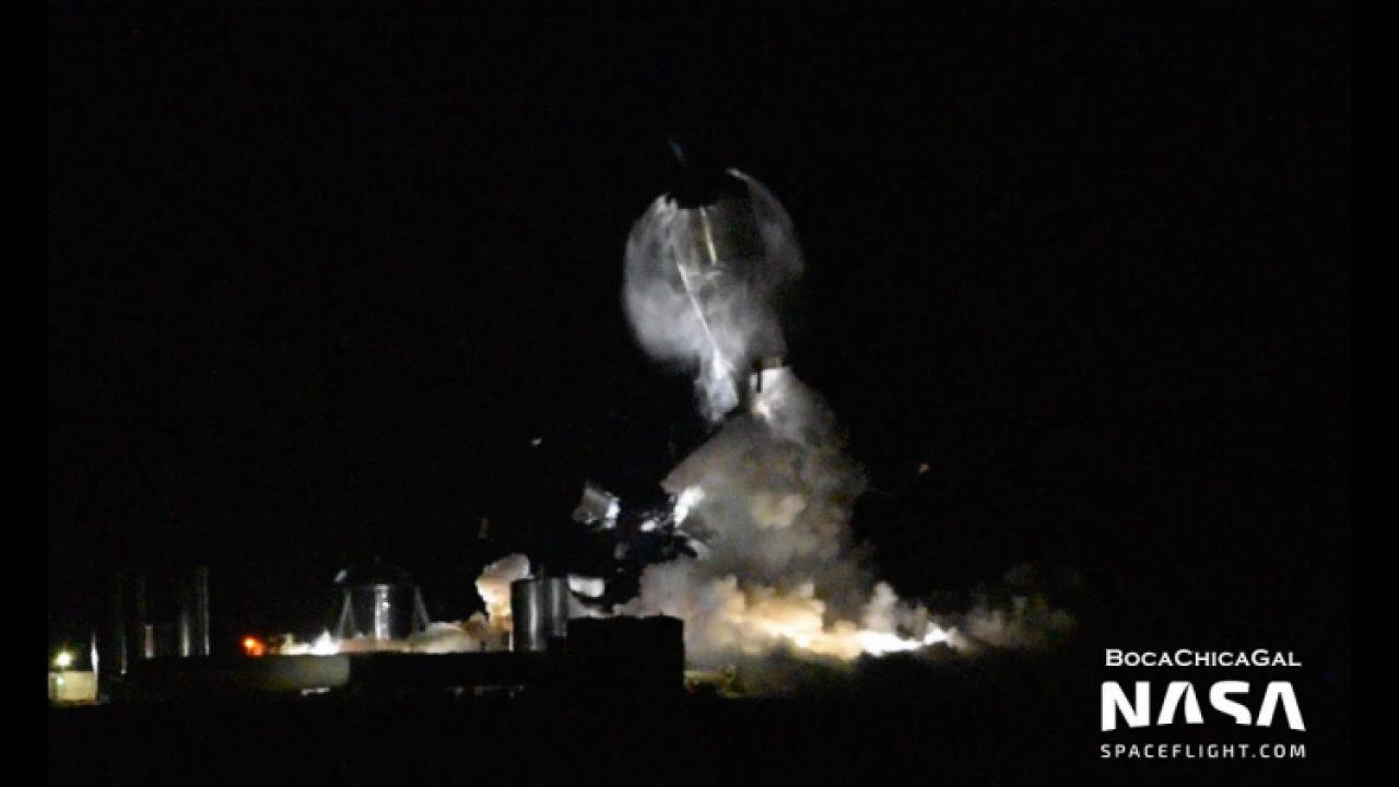 Protótipo da SpaceX Starship explodiu durante o teste   Avalanche ...